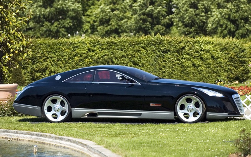 Maybach Exelero Side View