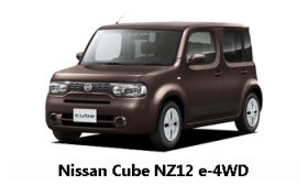 Диагностика и ремонт Nissan Cube NZ12 e-4WD